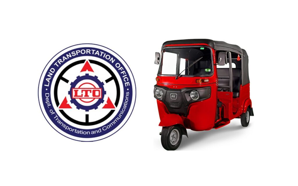 LTO regulations for the Bajaj RE