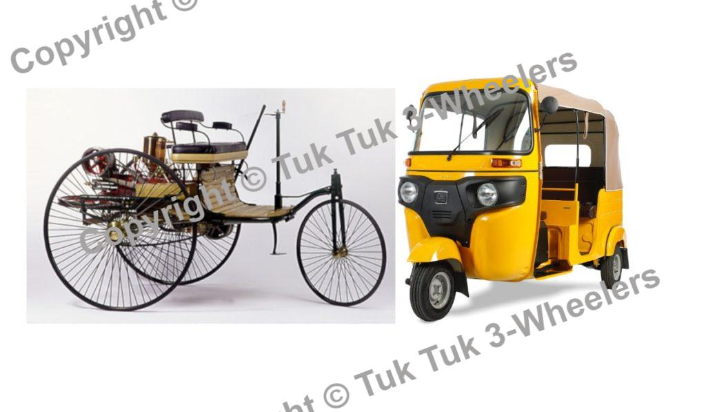 History proves Tuk tuk are cars