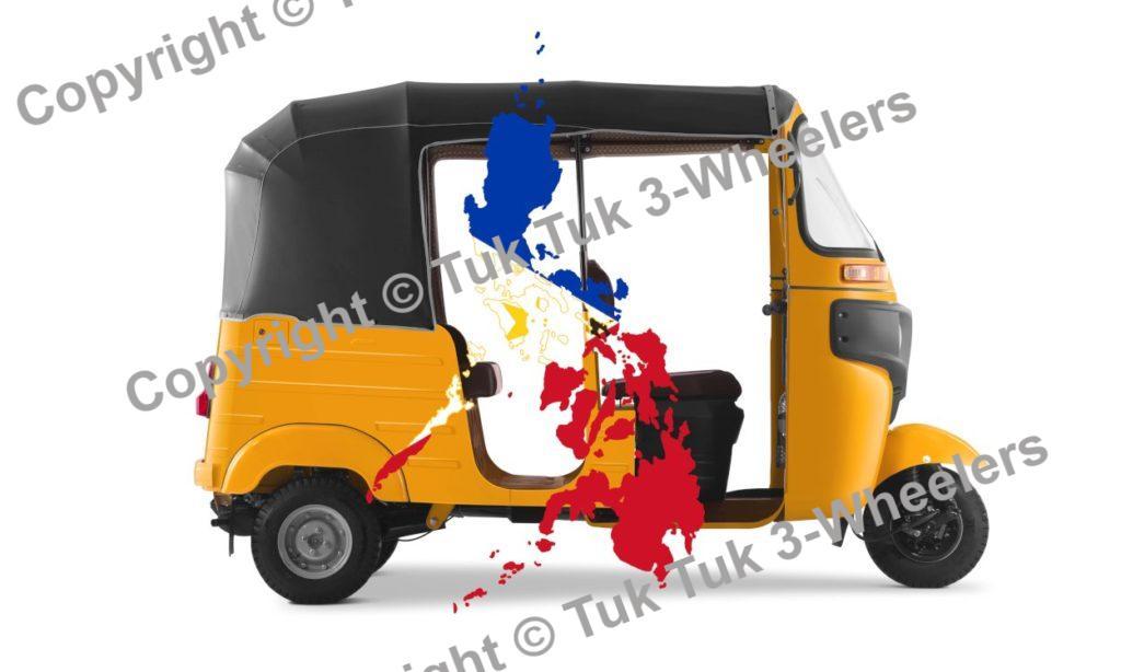 Bajaj RE Three Wheelers Philippines Roads