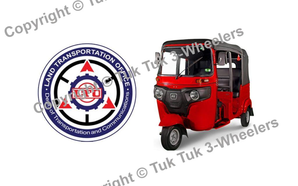 LTO Registration for bajaj re
