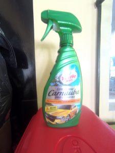 Turtle Wax Express Shine Carnauba Spray Cleaner Wax