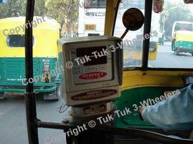 Bajaj RE taxi meter