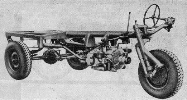 Aermacchi Macchi MB1 chassis