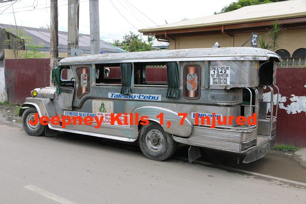 Jeepney crash manila