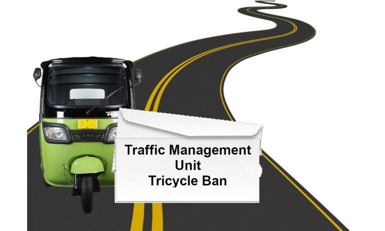 Letter to Traffic Management Unit Regarding Tuk Tuks After Enforcers Stopped Me.
