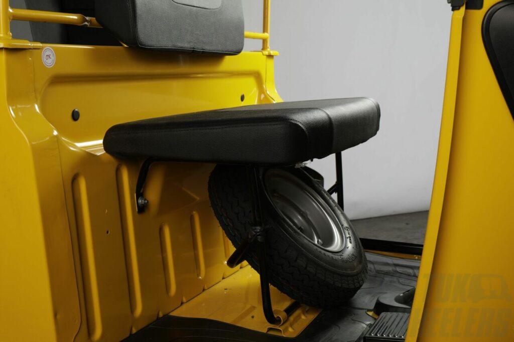 Tvs king spare wheel