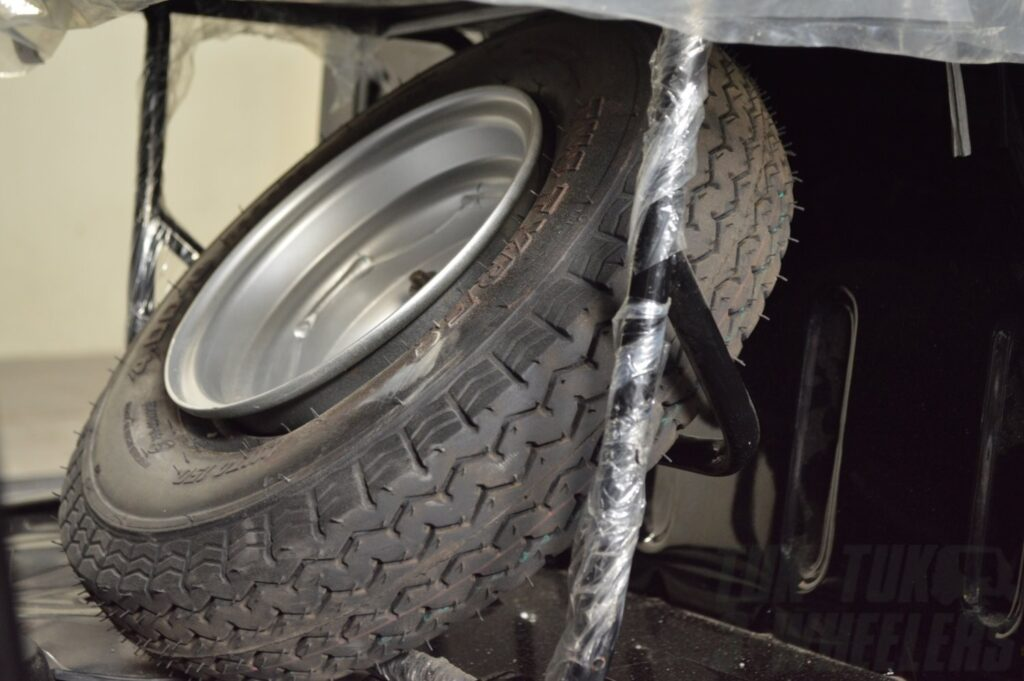 TVS Karggo Spare Wheel