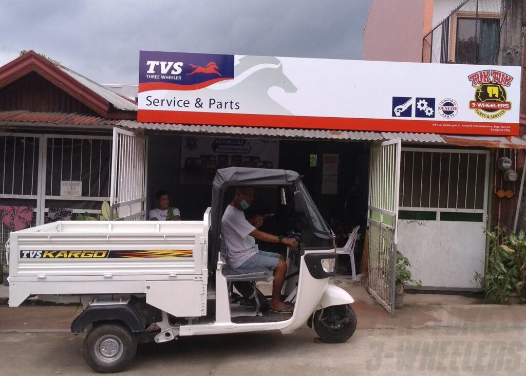 TVS Kargo Pickup