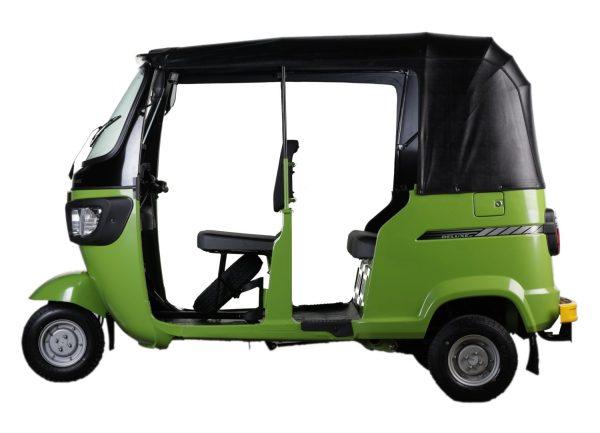 TVS King Lime Green