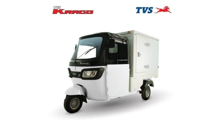 TVS Kargo Box Van at Tuk Tuk 3-Wheelers