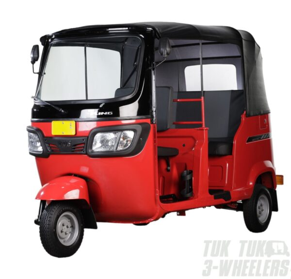TVS King Deluxe red left side