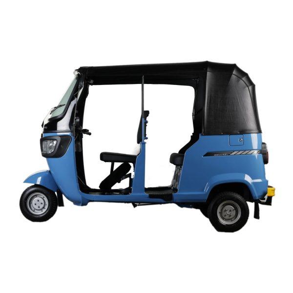 TVS King Deluxe Three-Wheeler Blue for Better Perfomamce