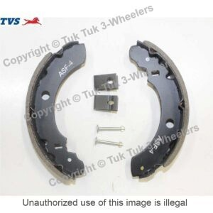 TVS king brake shoe kit
