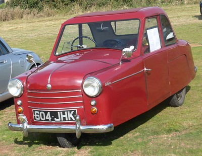 AC Petite 3 wheeler 1954