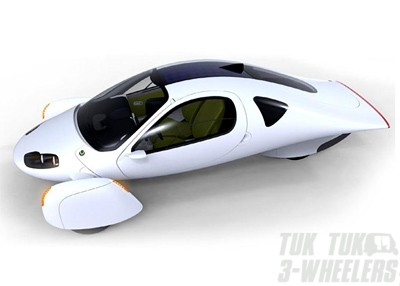 Accelerated Composites three wheeler