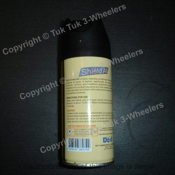Shield All Tuk TUk Cleaner