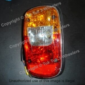 TVS King rear light