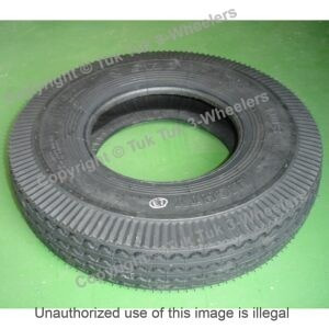 Tire for TVS King Bajaj RE Piagio Ape