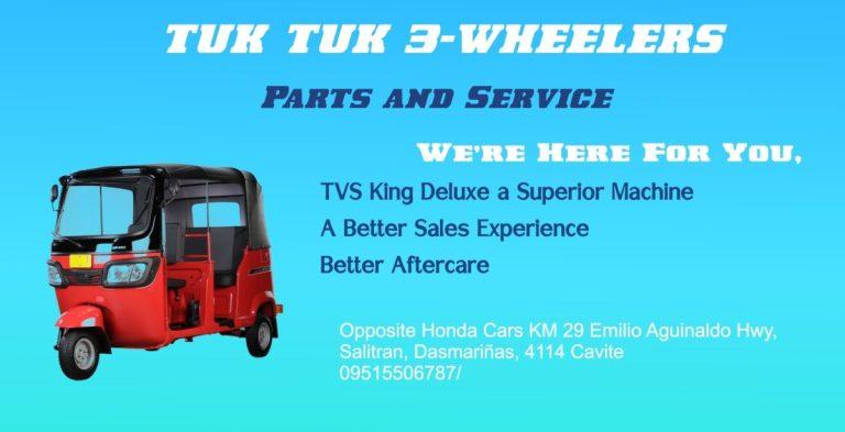 Buying a Tuk Tuk? 10 Reasons to buy from Tuk Tuk 3-Wheelers