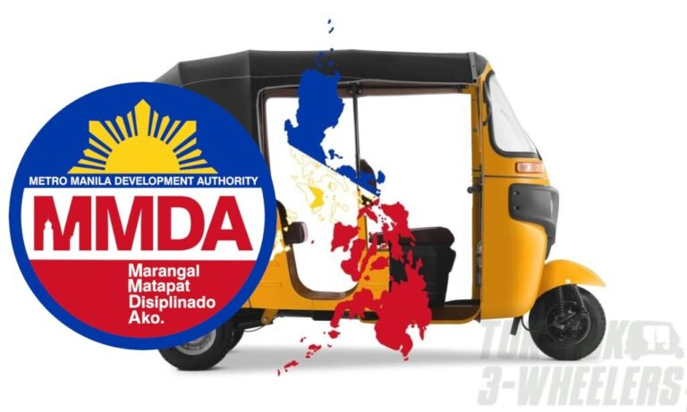 MMDA Appeal Concludes that Tricycle Ban does not Apply to Tuk Tuks