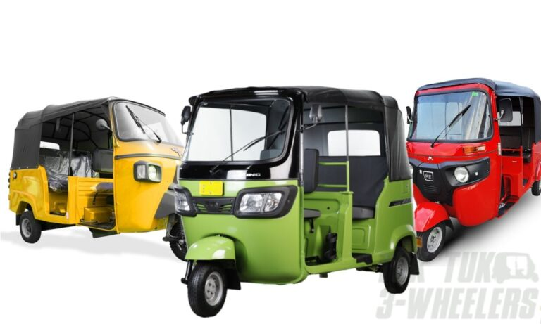 Tuk Tuks not Classified as Motorcycle with Sidecar