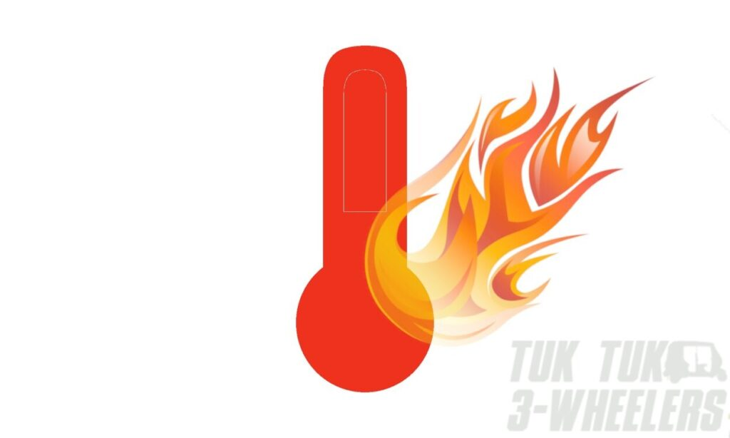 TVS King Overheating
