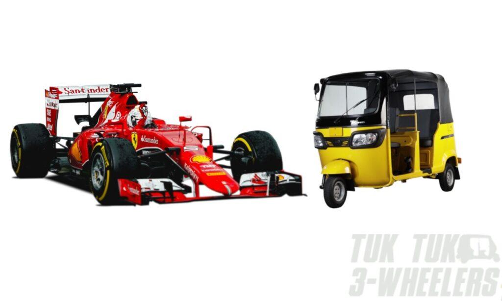 Tuk Tuks and Sports Cars