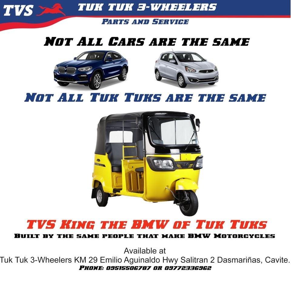 Not all tuk tuks are the same