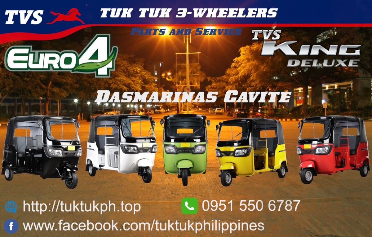 TVS King Euro 4 at Tuk Tuk 3-Wheelers