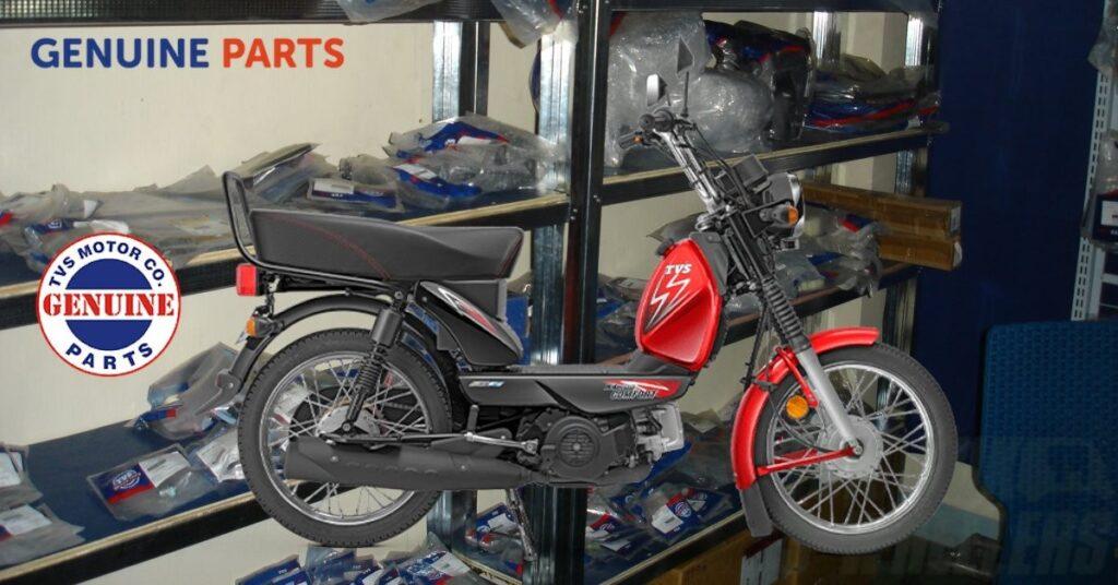 TVS XL 100 Spare Parts Price List