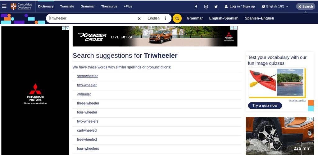 Triwheeler or Tri-Wheeler Fact Check the Truth News