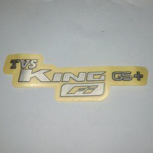 TVS King Logo Rear