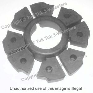 TVS XL100 Shock Absorber Rear Wheel Hub