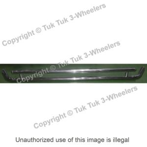 TVS King Stainless Steel Rear Bumper