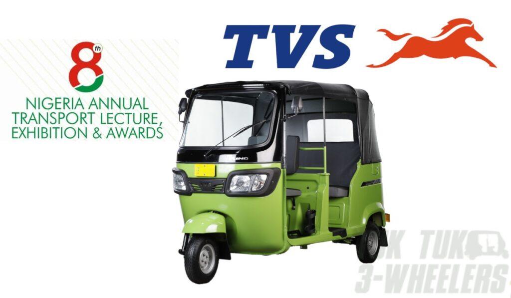 TVS King Three-Wheeler Brand Of The Year