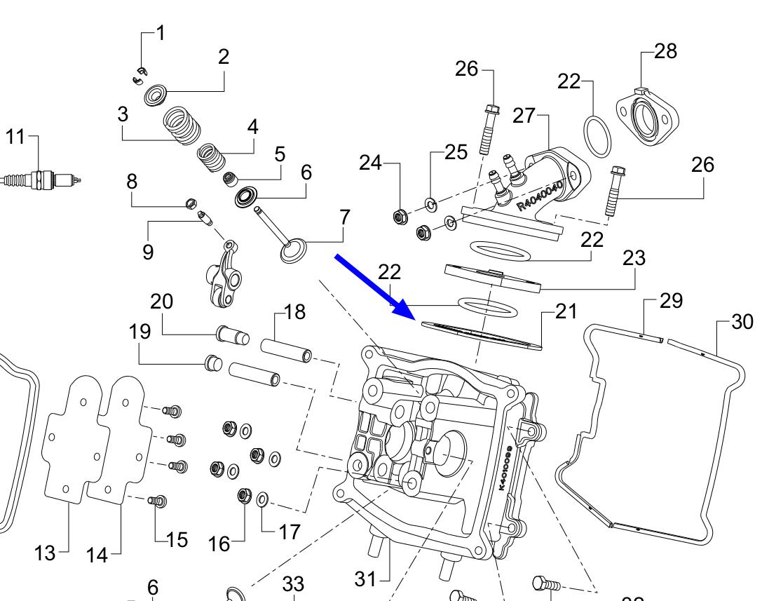 TVS Dazz Intake Pipe Grommet Genuine TVS Part R4180130