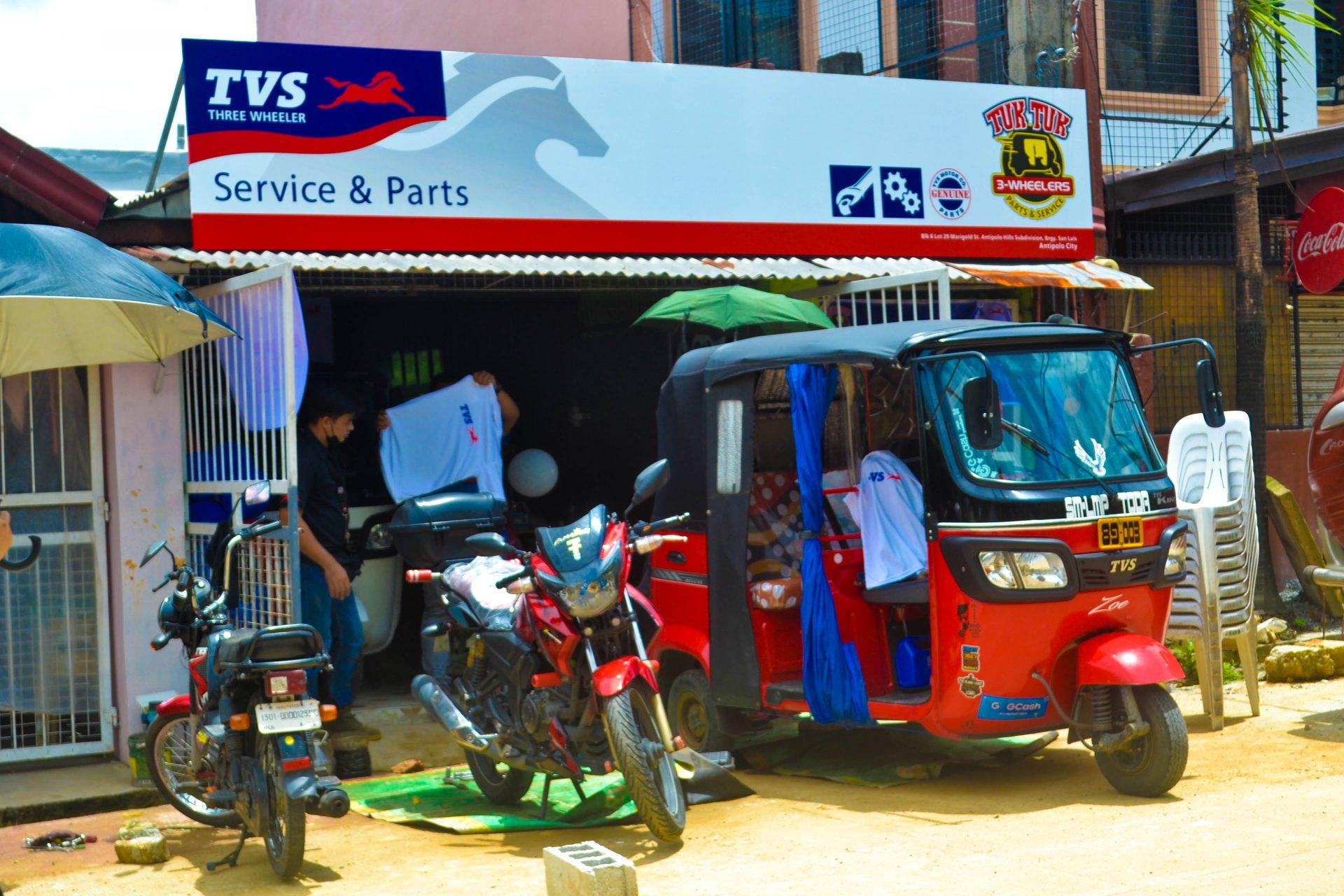 TVS King at Tuk Tuk 3-Wheelers Antipolo