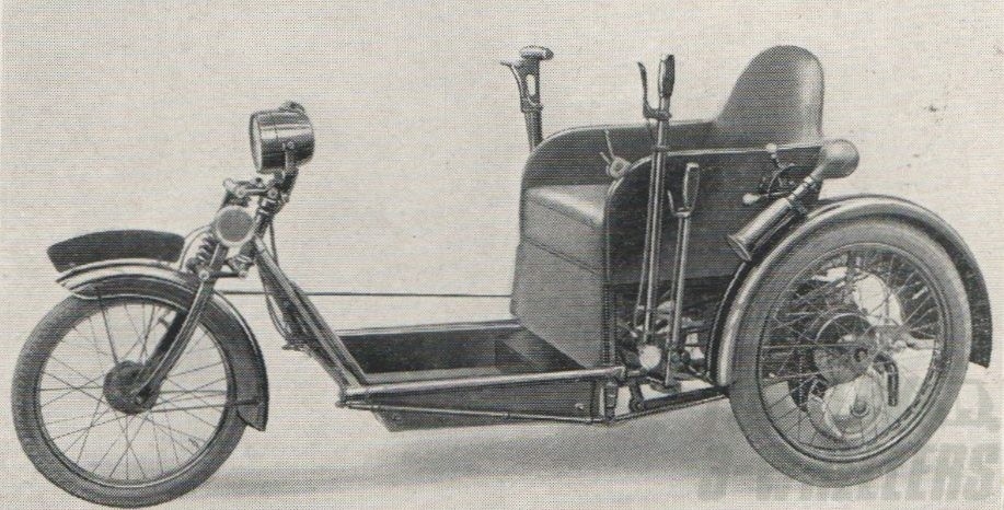 Argson Invalid Tricycle