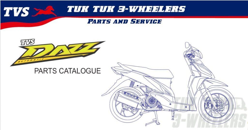 TVS Dazz Spare Parts Price List