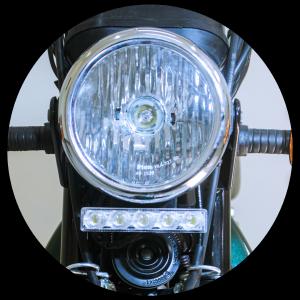 XL 100 Head light and Daytime running lights