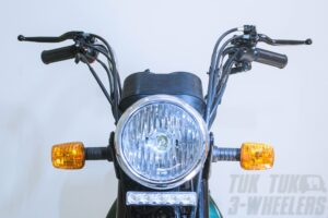 TVS XL 100 Premium Red the Perfect Motorcycle for Couriers