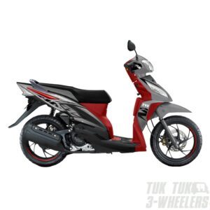 TVS Dazz Prime Grey 110cc Perfect for Everyday Use