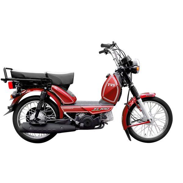 TVS XL 100 Premium Red