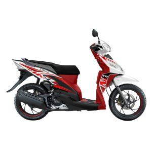 TVS Dazz Prime White Red